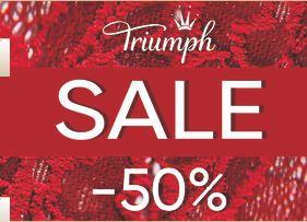 Распродажа в Triumph. До 50% на коллекции Весна-Лето 2018