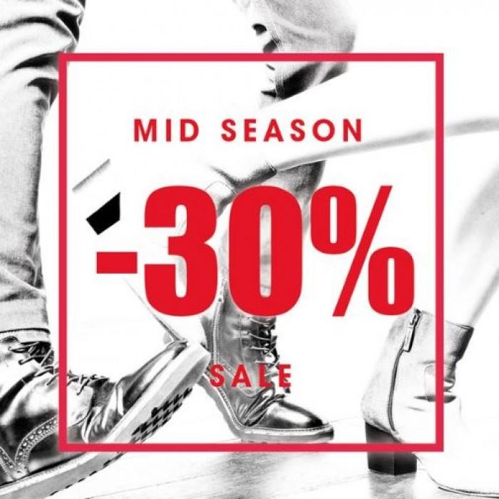 Акции SOHO сегодня. Дарим скидку 30% на обувь и аксессуары