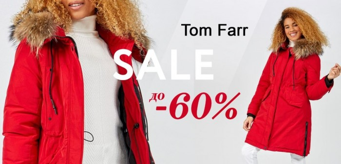 Акции в Tom Farr. До 60% на хиты Осень-Зима 2019/2020