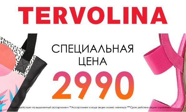 Акции Терволина. Супер-цена 2990 рублей на ВСЕ