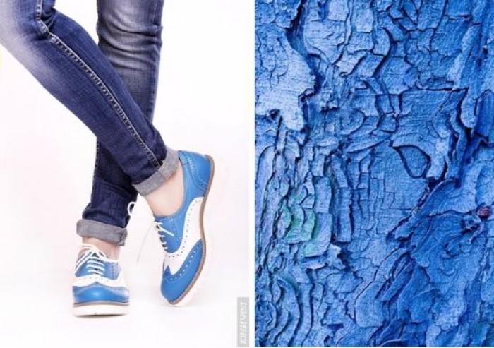 Юничел - Броги в голубом по специальной цене