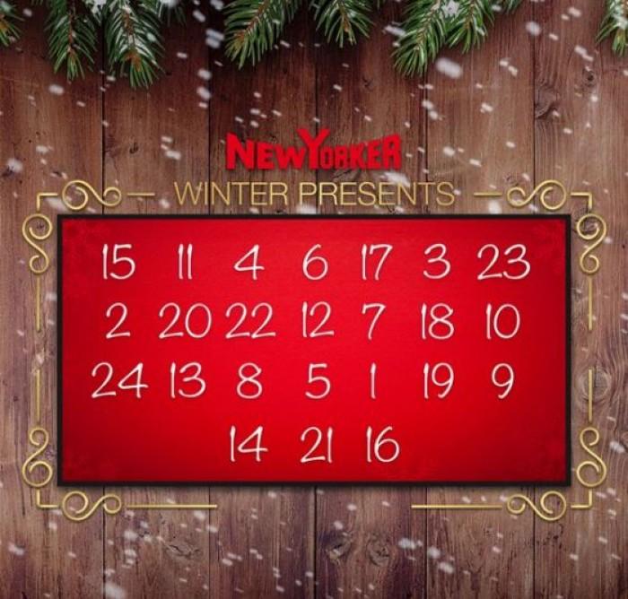 """New Yorker - Акция """"Рождественский календарь"""""""