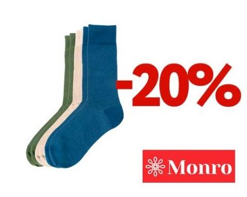 МОНРО - Скидка 20% на носки