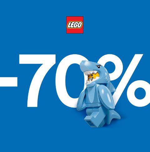 Распродажа в LEGO. До 70% на конструкторы