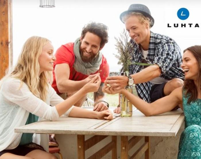 Акции в МЕГА. Распродажа в Luhta с 1 по 31 августа 2017