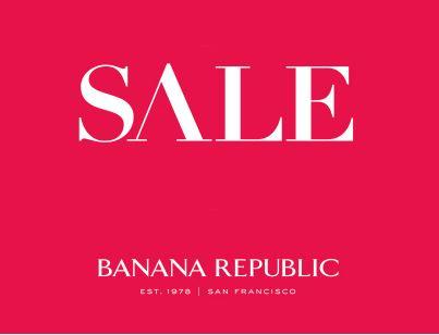 МЕГА - Распродажа в Banana Republic