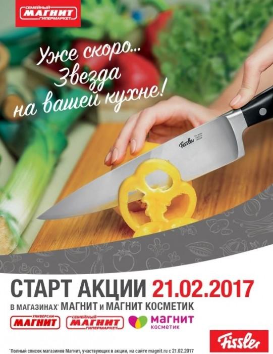 Магнит - Ножи Fissler со скидкой до 98%
