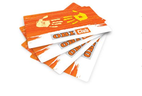 "Программа для Постоянных покупателей  гипермаркетов OBI – ""OBI Club"""