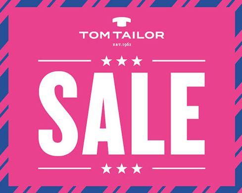 Распродажа в TOM TAILOR
