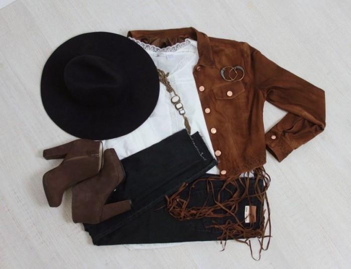 Familia - Кожаная куртка со скидкой 83%