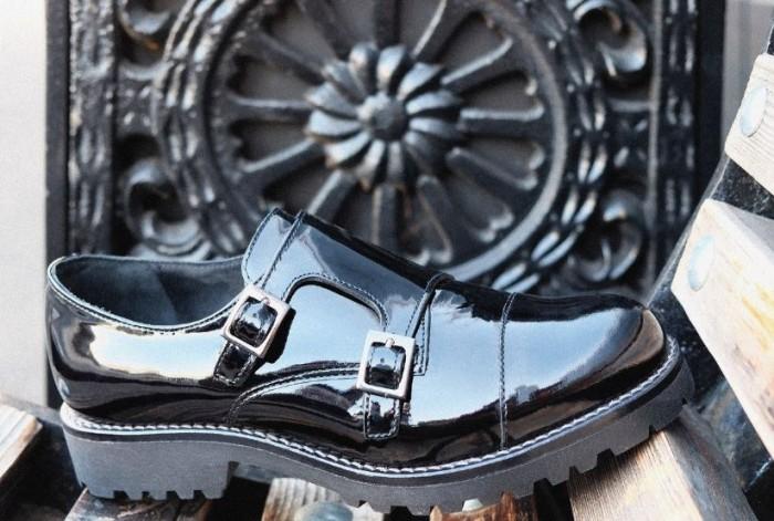 Юничел - Ботинки из лаковой кожи по специальной цене