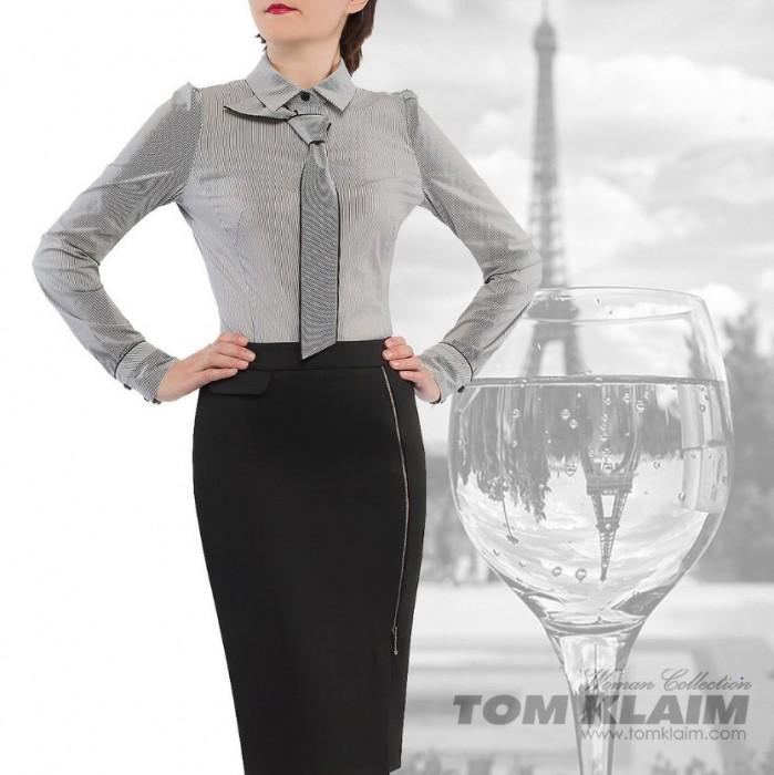 Акции Tom Klaim сегодня. Офисная блузка по специальной цене