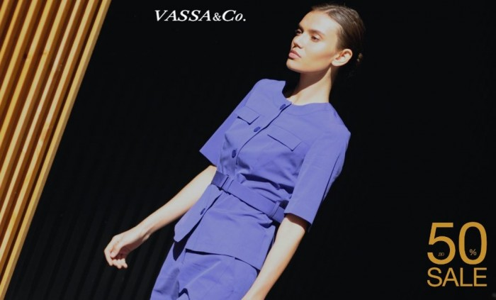 Акции VASSA&Co. До 50% на хиты сезона Весна-Лето 2019