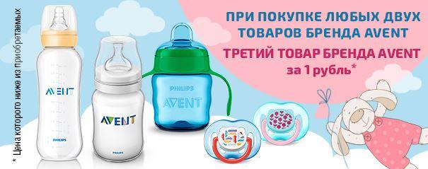 Магнит - Скидка на товары бренда Avent
