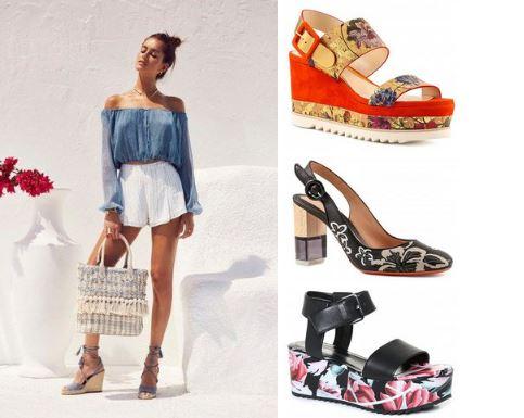 Яркие краски в магазинах обуви Мода и Комфорт