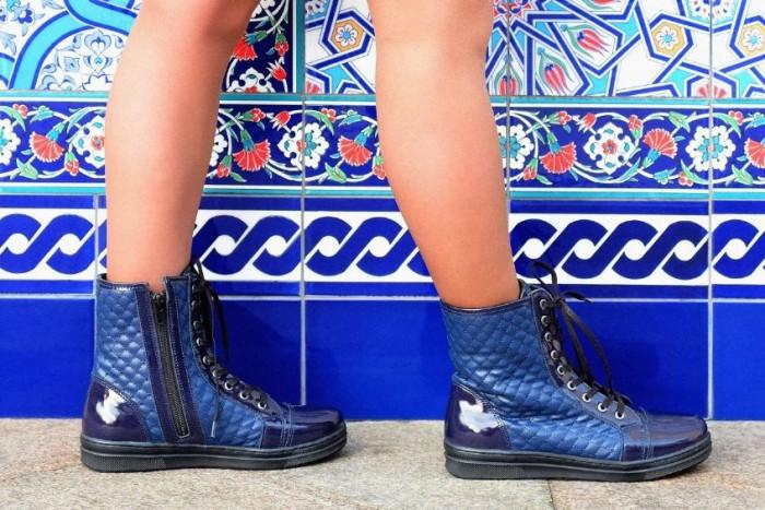 Юничел - Кожаные ботинки по суперцене