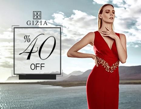 GIZIA- скидки до 40% на летнюю коллекцию
