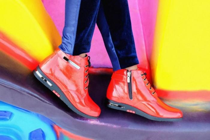 Юничел - Лаковые ботинки по специальной цене