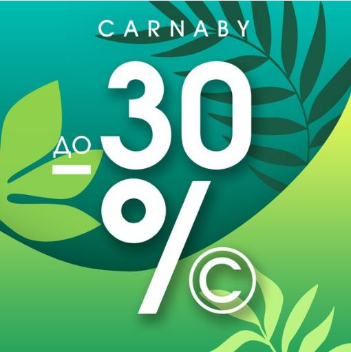 Акции Carnaby. До 30% на коллекции Весна-Лето 2018