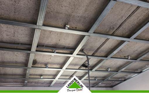 Леруа Мерлен - Этапы монтажа подвесного потолка из гипсокартона