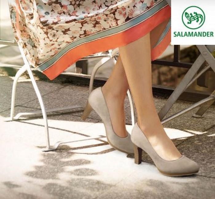Акции МЕГА 2018. Скидка 10% на обувь Salamander по MEGACARD