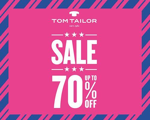 Финальная распродажа в TOM TAILOR