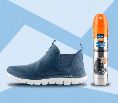 Водоотталкивающая пропитка для обуви по суперцене в Спортмастере
