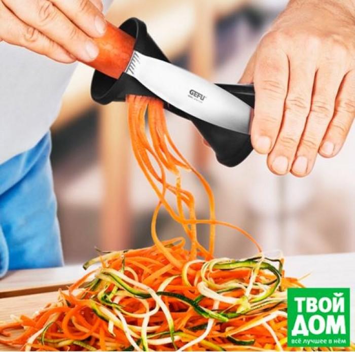 Твой Дом - Новинка! Нож для спиральной нарезки Spirelli