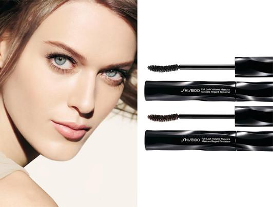 Shiseido - Тушь для максимального объема ресниц.