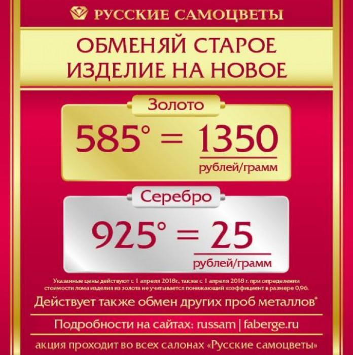 Акции Русские Самоцветы. Меняем старое на новое