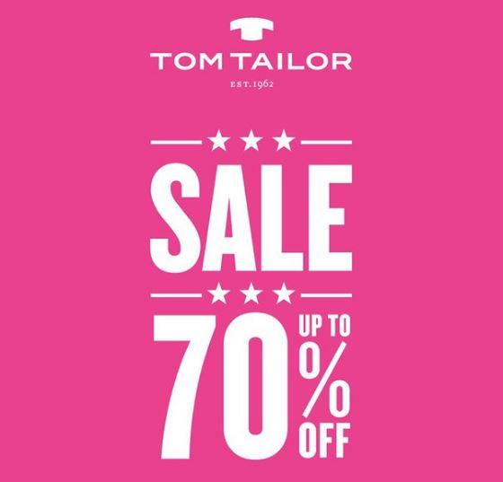 TOM TAILOR - Скидки до 70%