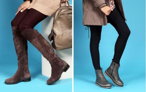 Акции Юничел сегодня. Зимняя обувь со скидками до 30%