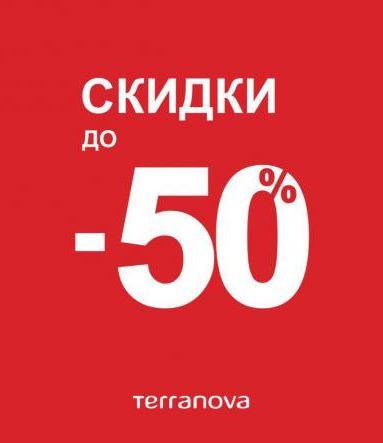 Акции Terranova. До 50% на коллекции одежды Весна 2018