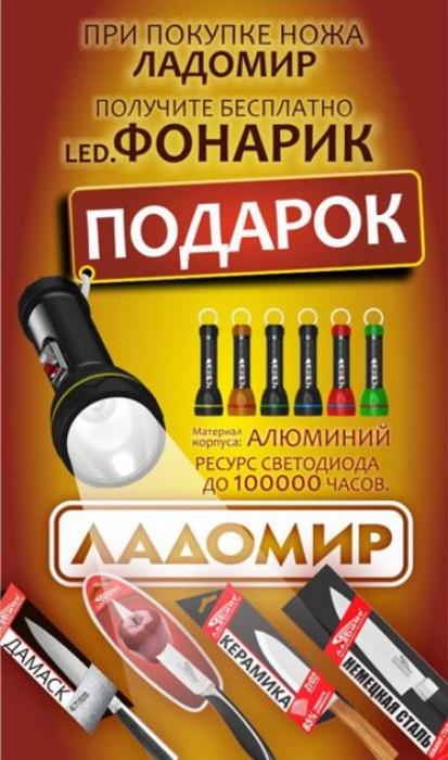 Твой Дом - LED фонарик в подарок