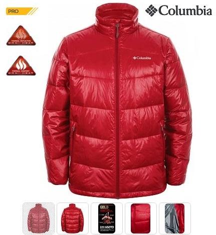Columbia - Куртка пуховая мужская