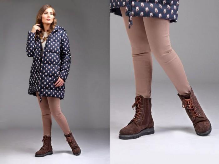 Юничел - Зимние ботинки с натуральным мехом