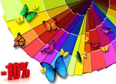 Casino - Скидка 10% на модели определенного цвета.
