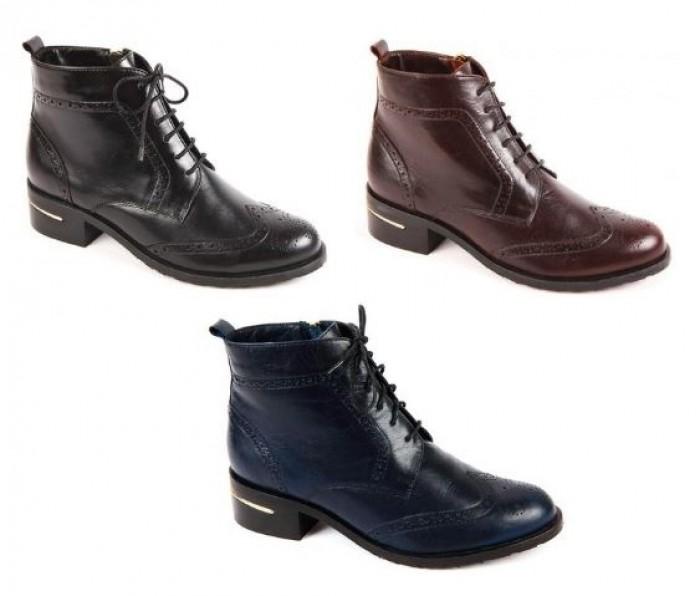 Акция в Юничел. Женские ботинки со скидкой 7%