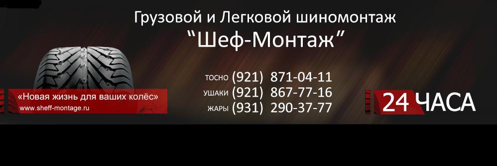 Автосервис Шеф-Монтаж