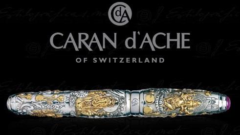 Шариковая ручка CARAN D'ACHE. Официальный сайт.