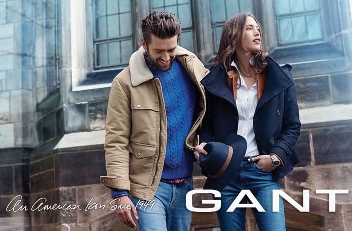 Gant одежда каталог