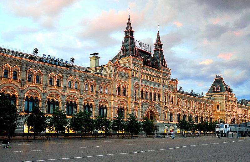 Акции, скидки и распродажа в ТЦ ГУМ в Москве