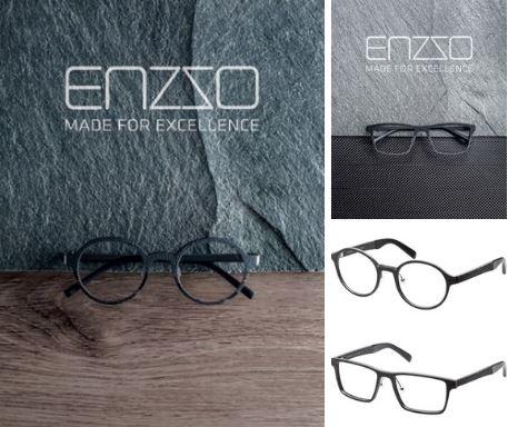 Линзмастер - Новая коллекция мужских оправ ENZZO