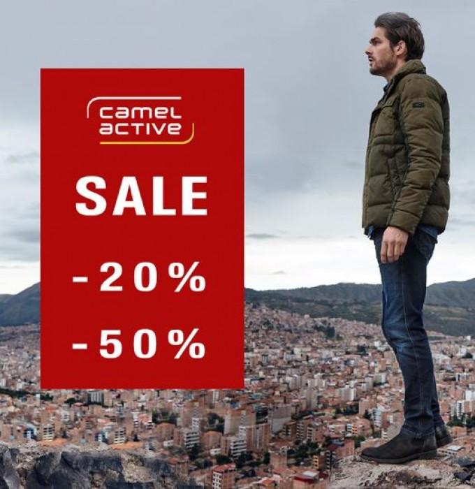 Акции в Camel Active. До 50% на Осень-Зиму 2019/2020