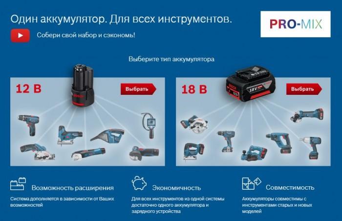 Акции 220 Вольт 2019. 50% на инструмент Bosch