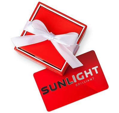 SUNLIGHT - Подарочная карта