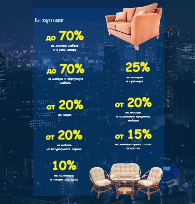 Три Кита - Ночь распродаж со скидками до 70% с 24 на 25 июня 2017