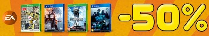 DOMO - Скидка 50% на игры издателя Electronic Arts